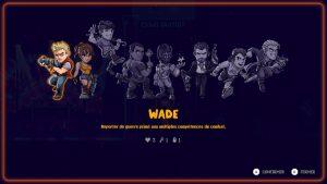 Huits personnages aux compétences différentes