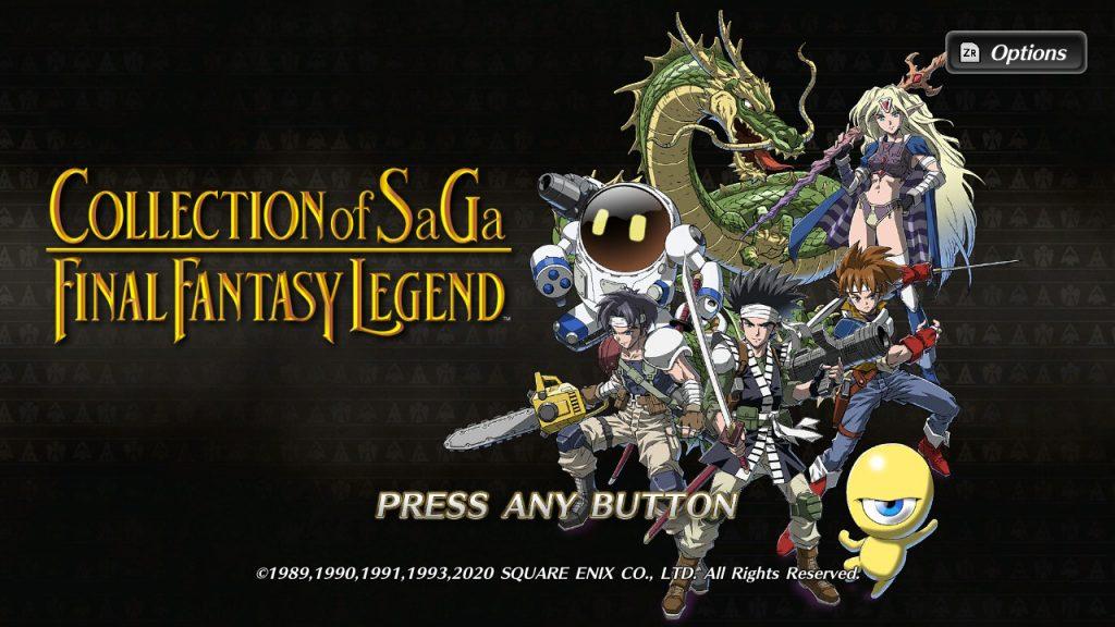 COLLECTION_of_SaGa_FINAL_FANTASY_LEGEND_Start_Screen